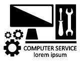 computer service symbol