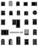 isolated window set