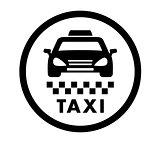 taxi cab services icon