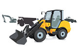 Construction - Shovel loader, excavators, trucks,