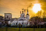 Russian Ortodox Church in Moscow, Russia