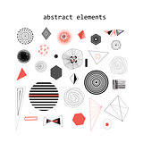 abstract elements