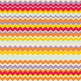 Chevron seamless colorful vector pattern or background with zig zag