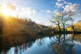 Sun in autumn