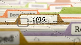 2016 - Folder Name in Directory.