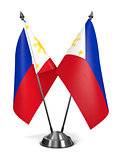 Philippines - Miniature Flags.