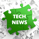 Tech News on Green Puzzle.