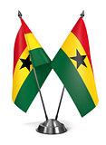 Ghana - Miniature Flags.