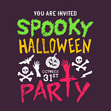 Spooky Halloween party