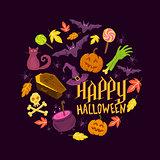 Spooky Halloween Symbols