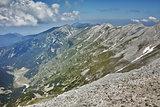 Panorama from Vihren Peak to Banski Suhodol Peak and Koncheto