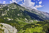 Amazing view of Hvoynaty Peak, Pirin Mountain