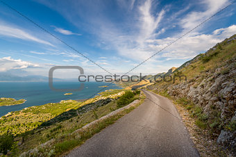 Old mountain road