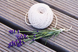 Lavender and rope