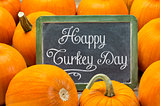 Happy Turkey Day on blackboard