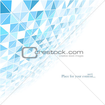 Business abstract blue background.