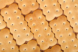 Cookies texture closeup