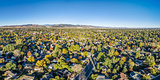 aerial panorama of Fort Collins