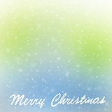 Merry Christmas greeting card border