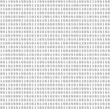 Binary system code vector grey background