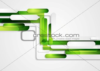 Abstract green geometric corporate tech background