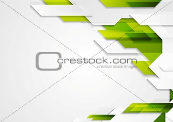 Abstract vector geometric bright design