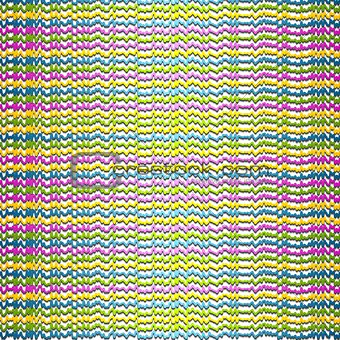 Abstract colorful rough stripes background