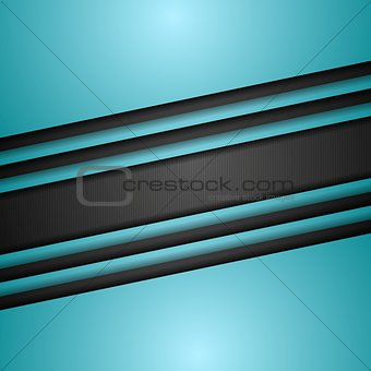 Cyan turquoise corporate art vector design