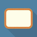 Flat Retro Banner