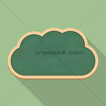 Blackboard Cloud Icon