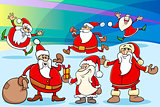 christmas cartoon illustration
