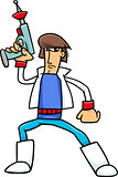 science fiction character cartoon