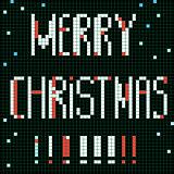 pixel merry christmas