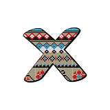 x letter small