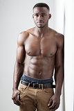 Dark Skinned Male Fitness