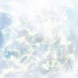 chrismas blue background