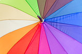 Open Rainbow umbrella