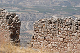 Ruins of fortress wall.
