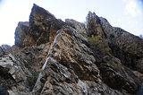 mountain sharp peaks