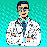 Doctor therapist medicine and health