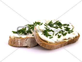 bread with curd