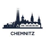 Chemnitz City Skyline
