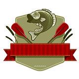 Retro Fishing Emblem