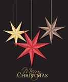 Vector Christmas Stars