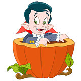 dracula on halloween