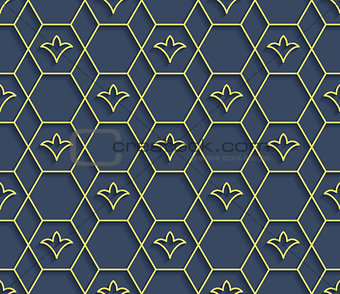 Arabic seamless vector pattern