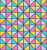 Seamless triangle pattern. Vector abstract texture