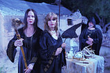 Witches with Fetishes in Ritual