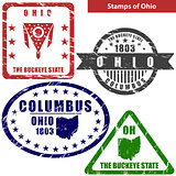 Stamps of Ohio, USA