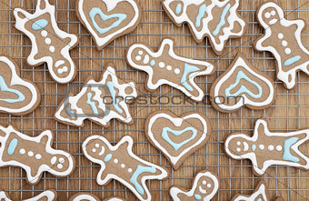 Beautiful gingerbread cookies